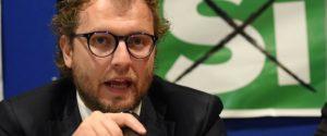 21/11/2016 Pistoia, inziativa del Partito Democratico a favore del referendum costituzionale, nella foto Luca Lotti, sottosegretario di Stato alla Presidenza del Consiglio
